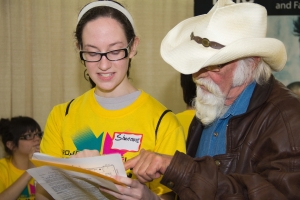 Volunteer to help guide the attendees on February 13.