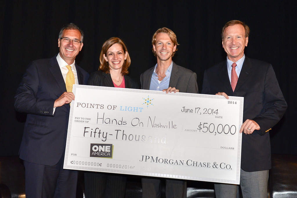 HandsOn Nashville earns top grant of $50,000 through innovative competition  supported by JPMorgan Chase