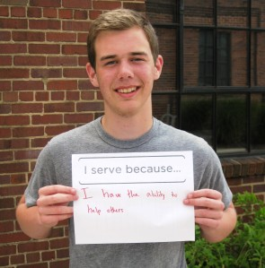 Volunteer Corps Summer Youth Leader Ben Delevante