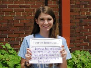 YVC Summer Youth Leader Cecilia Von Mann