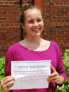YVC Summer Youth Leader Emily Thompson