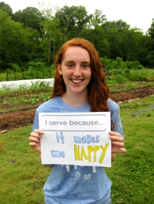2014 Urban Agriculture Intern Emily Dunn