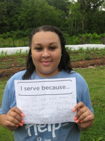 2014 Urban Agriculture Intern Maria Darty