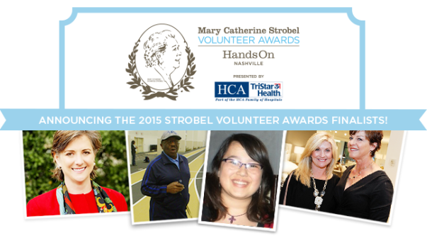 Meet the 2015 Strobel Volunteer Awards Finalists