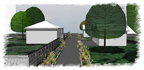 Renderings created by Landscape Solutions — LandscapeTN.com