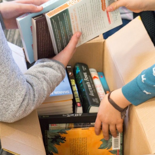 On Saturday, Feb. 13, volunteers sorted 3,700 books to support youth literacy! Thanks to each of our student volunteers, teachers, and partners for making the 2016 Hands On Nashville, Book 'em Book Drive for kids a success!