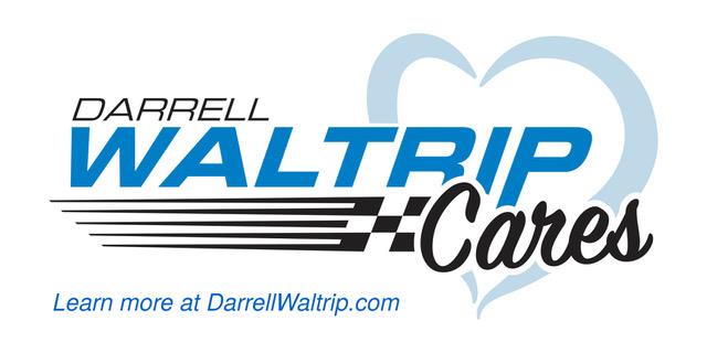Darrell Waltrip Cares logo